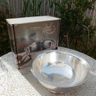 "Gorham Silverplate Paul Revere Footed 8"" Bowl Liner Box YC780 Vintage"