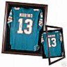 NFL, Cabinet Style Jersey Display Case w/Free Logo