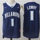 Men's Villanova Wildcats Kyle Lowry 1 College Basketball Jersey