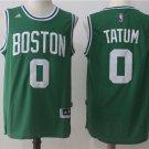 Men's Boston Celtics #0 Jayson Tatum Jersey Swingman Basketball Stitched Green