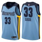 Mens, Memphis Grizzlies #33 Marc Gasol swingman basketball jersey blue