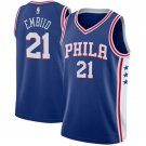 Mens,New Philadelphia 76ers #21 Joel Embiid swingman basketball jersey blu