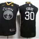 Youth stephen curry jersey black