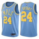 Los Angeles Lakers #24 Kobe Bryant Jersey Classic Edition Light Blue Swingman Stitched