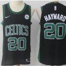 Men's Celtics 20 Gordon Hayward jersey black