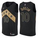 MENS  Raptors #10 Demar Derozan Men's black stitched jersey