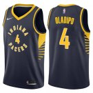 MENS  Victor Oladipo pacers #4 men's Jersey navy