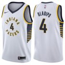 MENS  Victor Oladipo pacers #4 men's Jersey white