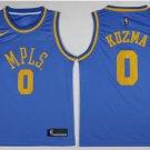 Men's Lakers #0 kyle kuzma jersey blue