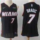 Men's Miami Heat #7 Goran Dragic Black Basketball jersey