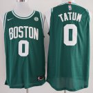 MenS   Boston Celtics #0 Jayson Tatum Green 2017-2018 Nike Swingman Stitched NBA Je