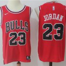 MenS Chicago Bulls #23 Michael Jordan Red 2017-2018 Nike Swingman Stitched NBA Je