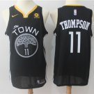 MENS  Golden state warriors Thompson 11 embroidery replica town basketball jersey