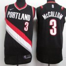 MENS Portland Trail Blazers mccollum 3 embroidery replica black basketball jersey