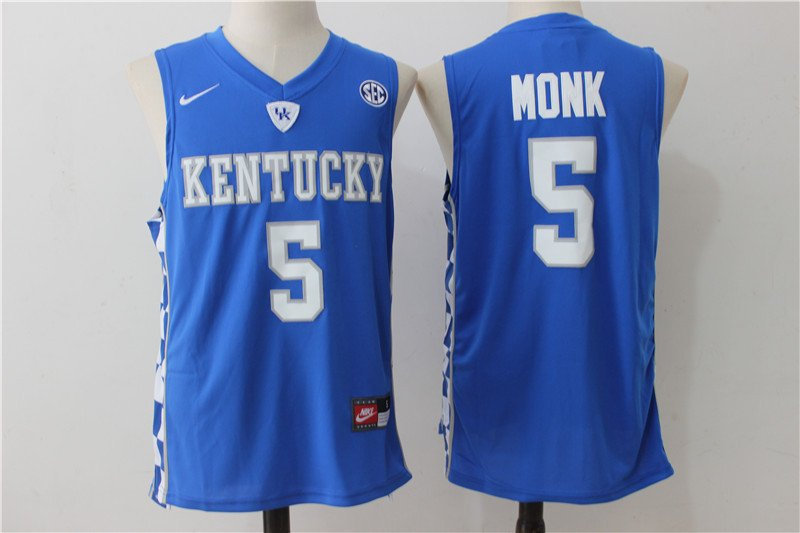 Mens   Kentucky Wildcats Monk 5# jersey College Basketball NCAA man sale top deal.jpg