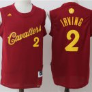 Mens    Cavaliers #2 Kyrie Irving christmas basketball jersey