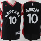 Mens DeMar DeRozan #10 Toronto Raptors black Swingman Men Sewn/Stitched Jersey NWT