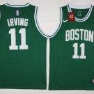 Youth Boston Celtics 11 Kyrie Irving Basketball Jersey Green