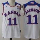Mens   kansas #11 josh jackson college jersey