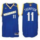 MENS  2017 Finals Klay Thompson #11 Golden State Warriors Basketball Shirt GSW Swingm