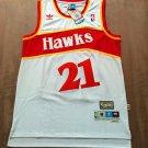 Mens Dominique Wilkins #21 Atlanta Hawks Vintage Basketball Swingman Jersey