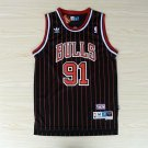 Mens  Dennis Rodman #91 Chicago Bulls Vintage Basketball Swingman Jersey