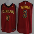 Mens  17-18 New Isaiah Thomas Jersey #3 Cleveland Cavaliers Swingman Red