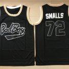 Men's Bad Boy Notorious Big Biggie Smalls #72 Black Basketball Jerseys
