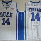 Men's Duke Blue Devils Brandon Ingram #14 White College Basketball Jerseys