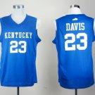 Men's Kentucky Wildcats Anthony Davis #23 Blue College Basketball Jerseys