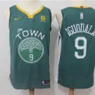 MENS WARRIORS #9 ANDRE IGUODALA GREEN BASKETBALL JERSEY