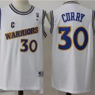 MENS WARRIORS #30 STEPHEN CURRY WHITE JERSEY