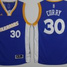 MENS WARRIORS #30 STEPHEN CURRY BLUE JERSEY