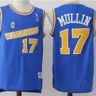 MENS WARRIORS #17 CHRIS MULLIN BLUE THROWBACK JERSEY
