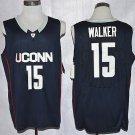 MENS UCONN #15 KEMBA WALKER COLLEGE NAVY BASKETBALL JERSEY