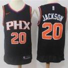 MENS SUNS #20 JOSH JACKSON BLACK BASKETBALL JERSEY