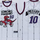 MENS RAPTORS #10 DEMAR DEROZAN WHITE STITCHED BASKETBALL JERSEY