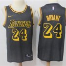 MENS LAKERS #24 KOBE BRYANT BLACK BASKETBALL JERSEY