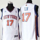 MENS KNICKS #17 JEREMY LIN WHITE JERSEY