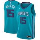 MENS CHARLOTTE HORNETS #15 KEMBA WALKER GREEN BASKETBALL JERSEY