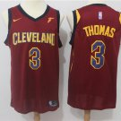 MENS CAVALIERS #3 ISAIAH THOMAS RED BASKETBALL JERSEY