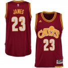 MENS CAVALIERS #23 LEBRON JAMES RED BASKETBALL JERSEY