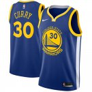 MENS 2018 NEW WARRIORS #30 STEPHEN CURRY BLUE JERSEY