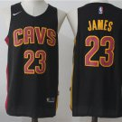 MENS 2018 NEW CAVALIERS #23 LEBRON JAMES BLACK JERSEY