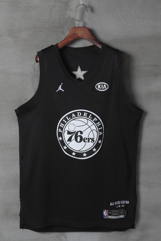 MENS 2018 ALL-STAR LEAGUE 76ERS #21 EMBIID WHITE JERSEY