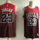 Men's Chicago Bulls 23# Michael Jordan Red Throwback Jersey New