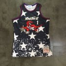 Toronto Raptors 1# Tracy McGrady Fine Embroidery Jersey Independence Day
