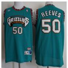 Men's Vancouver Grizzlies 50# Zach Randolph Green Basketball Jersey