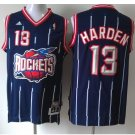 Men's Houston Rockets 13# James Harden Navy Basketball Throwback Jersey