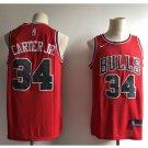 Men's Chicago Bulls 34 Wendell Carter Jr. Swingmen Basketball Jersey Red
